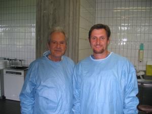 Prof Ugo Fisch taught me otology